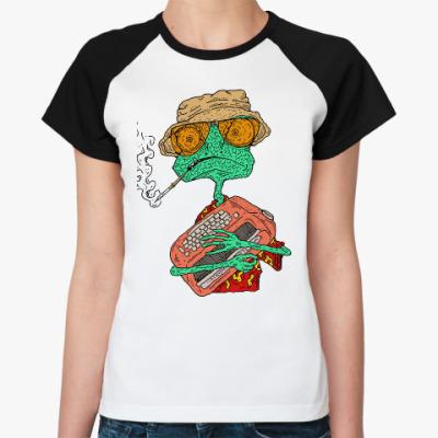 Женская футболка реглан Ранго - Рауль Дюк