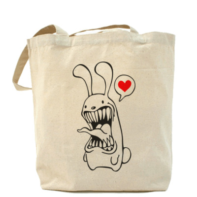Сумка сумка Белый Кролик