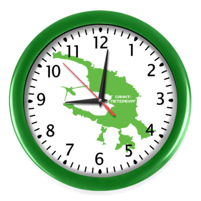 Настенные часы Санкт-Петербург