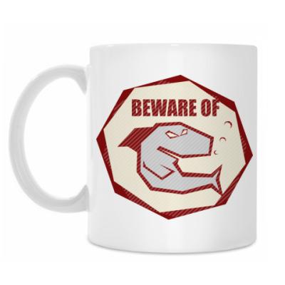 Кружка beware of