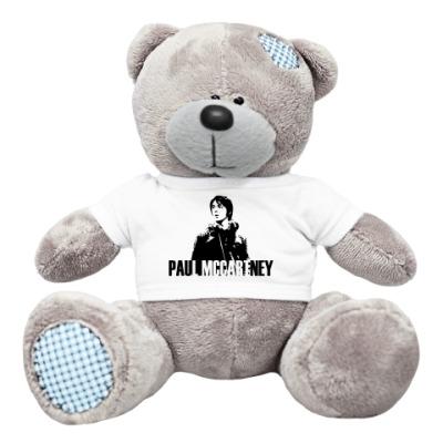 Плюшевый мишка Тедди Мишка Paul McCartney