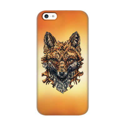 Чехол для iPhone 5c Mechanical Fox