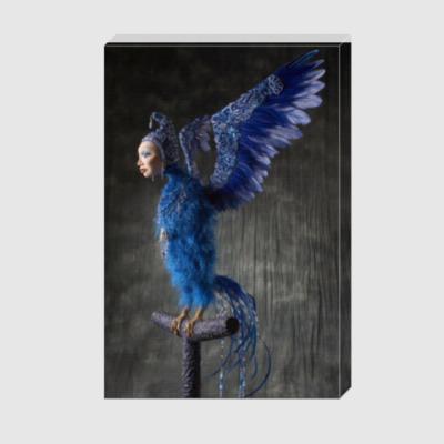 Холст 'Синяя птица'