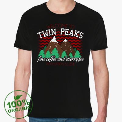 Футболка из органик-хлопка Сериал Твин Пикс Twin Peaks