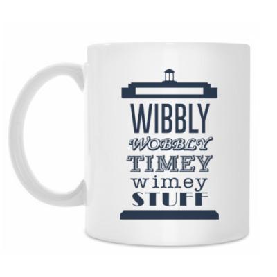 Кружка Wibbly Wobbly Timey Wimey Stuf