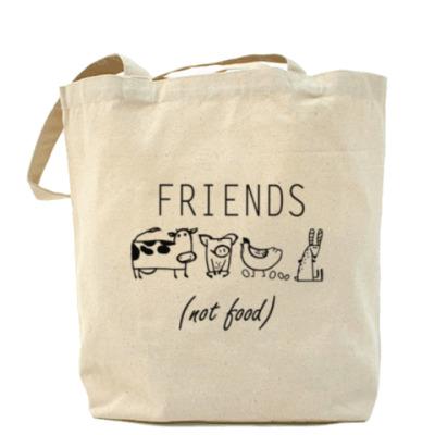 Сумка FRIENDS (NOT FOOD)