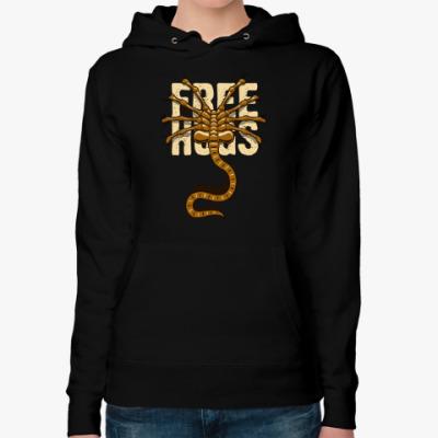 Женская толстовка худи Free Hugs