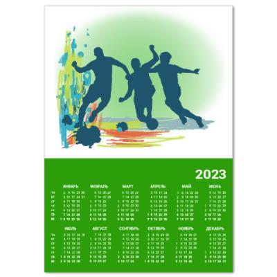 Календарь Я люблю футбол