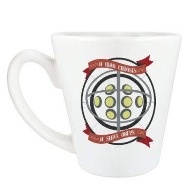 Чашка Латте BioShock A man chooses