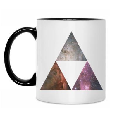 Кружка Космические треугольники