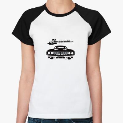 Женская футболка реглан Барракуда