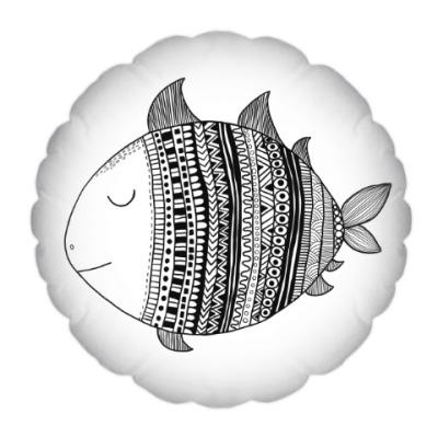 Подушка Рыба моя