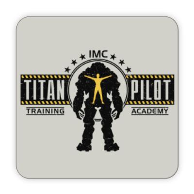 Костер (подставка под кружку) Battlefield Titan Pilot