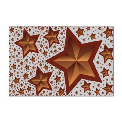 Наклейка (стикер) Звезды