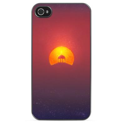 Чехол для iPhone Домик на солнце