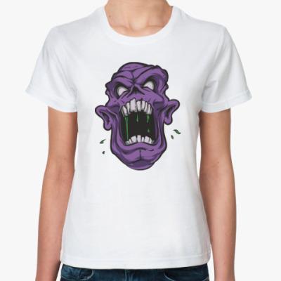 Классическая футболка Zombie, Зомби