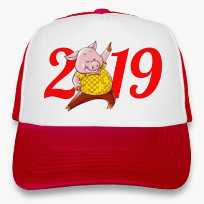 Кепка-тракер Dancing Pig 2019