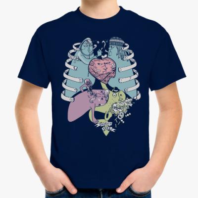 Детская футболка Вредные привычки человека