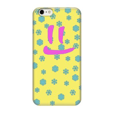 Чехол для iPhone 6/6s Снежная улыбка
