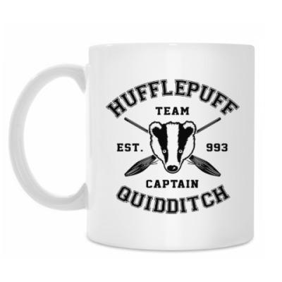 Кружка Hufflepuff Quidditch