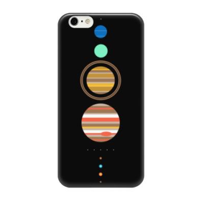 Чехол для iPhone 6/6s Солнечная система минимализм