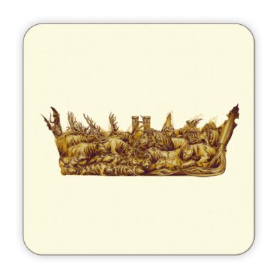 Костер (подставка под кружку) Игра Престолов: Корона