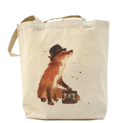 Сумка Aquarelle Busy Fox