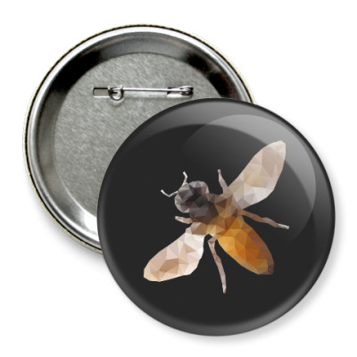 Значок 75мм Пчела / Bee