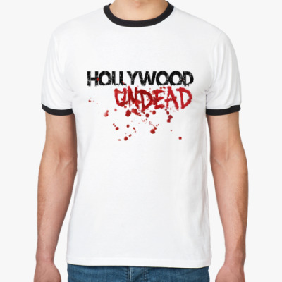 Футболка Ringer-T Hollywood Undead Bloody