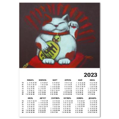 Календарь Манеки неко (Maneki neko)