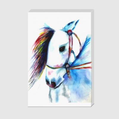 Холст  Лошадь