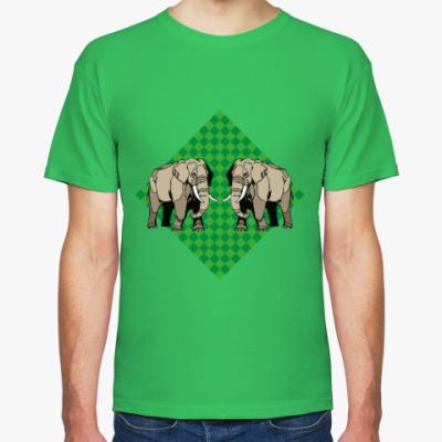 Футболка Слоны