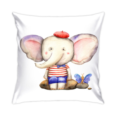 Подушка милый слоненок