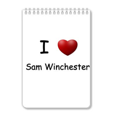 Блокнот I Love Sam
