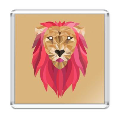 Магнит Лев / Lion