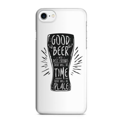 Чехол для iPhone 7/8 Весёлая кружка (funny mug)