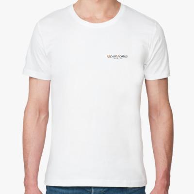 Футболка из органик-хлопка Мужская футболка (белая)