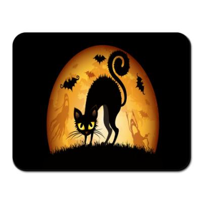 Коврик для мыши кошка