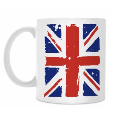 Кружка Британский флаг / British flag