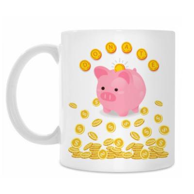 Кружка DONATE PIG