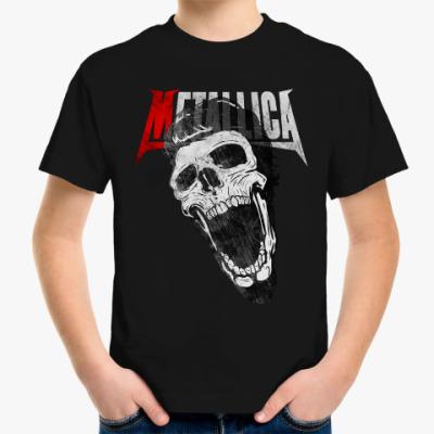 Детская футболка Metallica Skull
