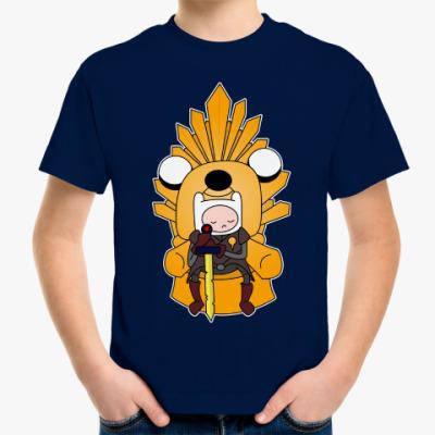 Детская футболка Adventure Throne