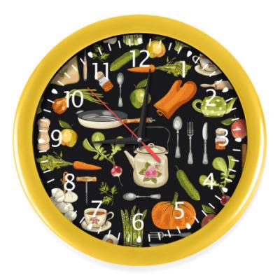 Настенные часы Кухня