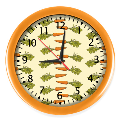 Настенные часы Морковки