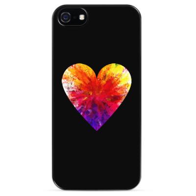 Чехол для iPhone Сердечко