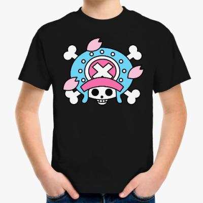 Детская футболка Ван Пис. Тони Тони Чоппер