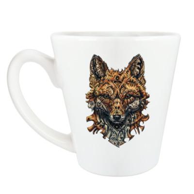 Чашка Латте Mechanical Fox