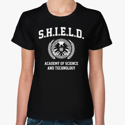 Женская футболка S.H.I.E.l.D. Academy