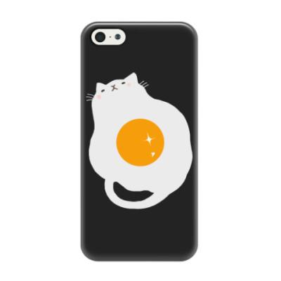 Чехол для iPhone 5/5s Кот-яичница