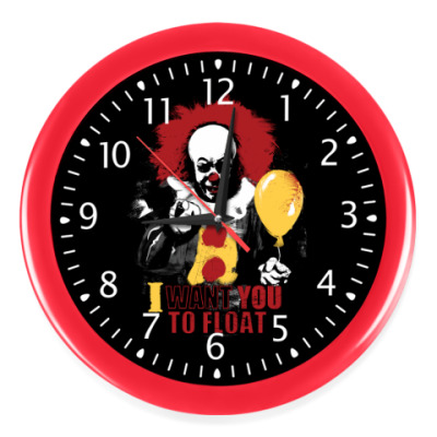 Настенные часы Clown It by Stephen King